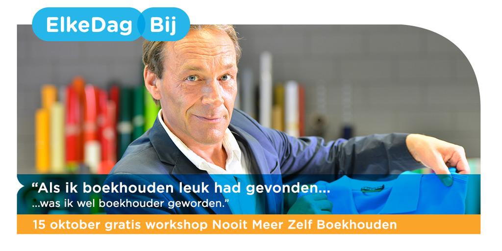 Workshop Boekhouden.